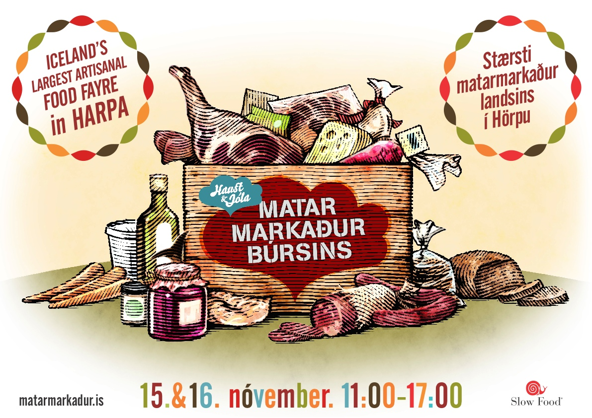 Matarmarkaður Búrsins í Hörpu 15.-16. nóvember 2014